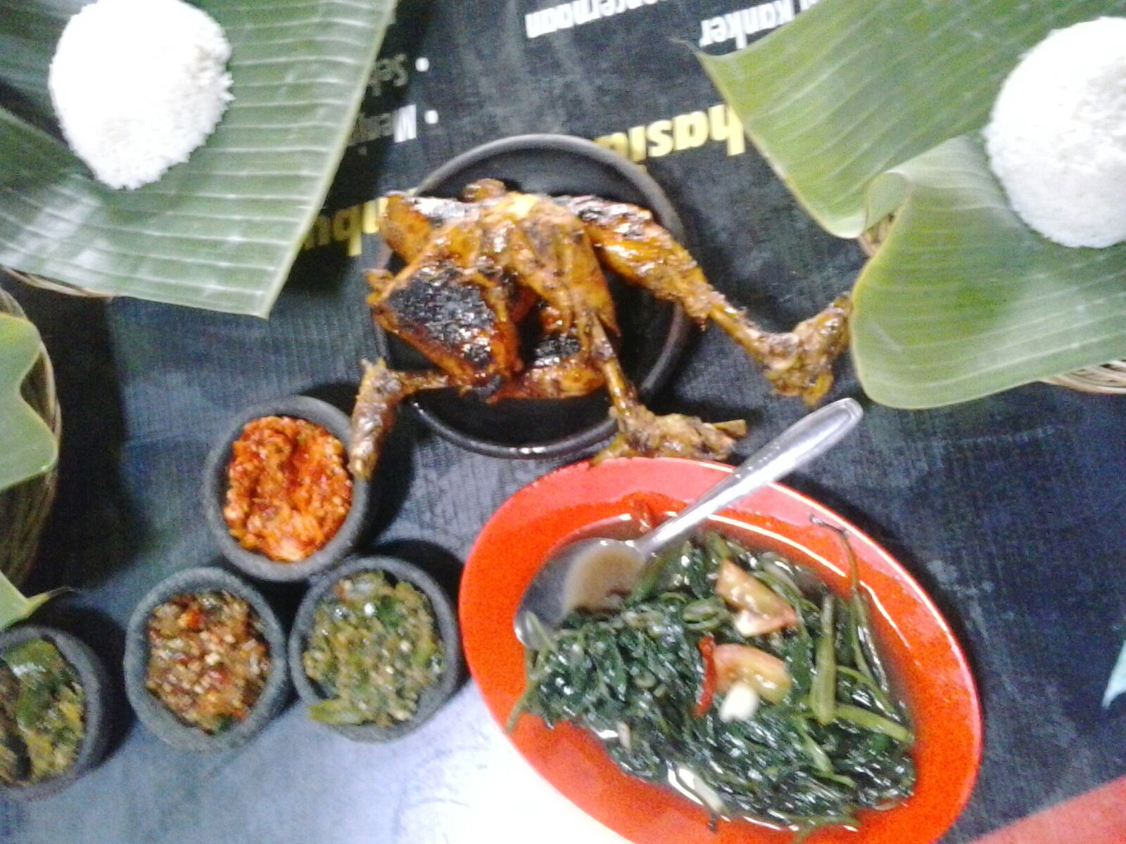 ayam bakar boombu hot resto tegal