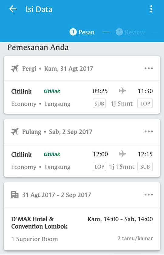 paket tour traveloka