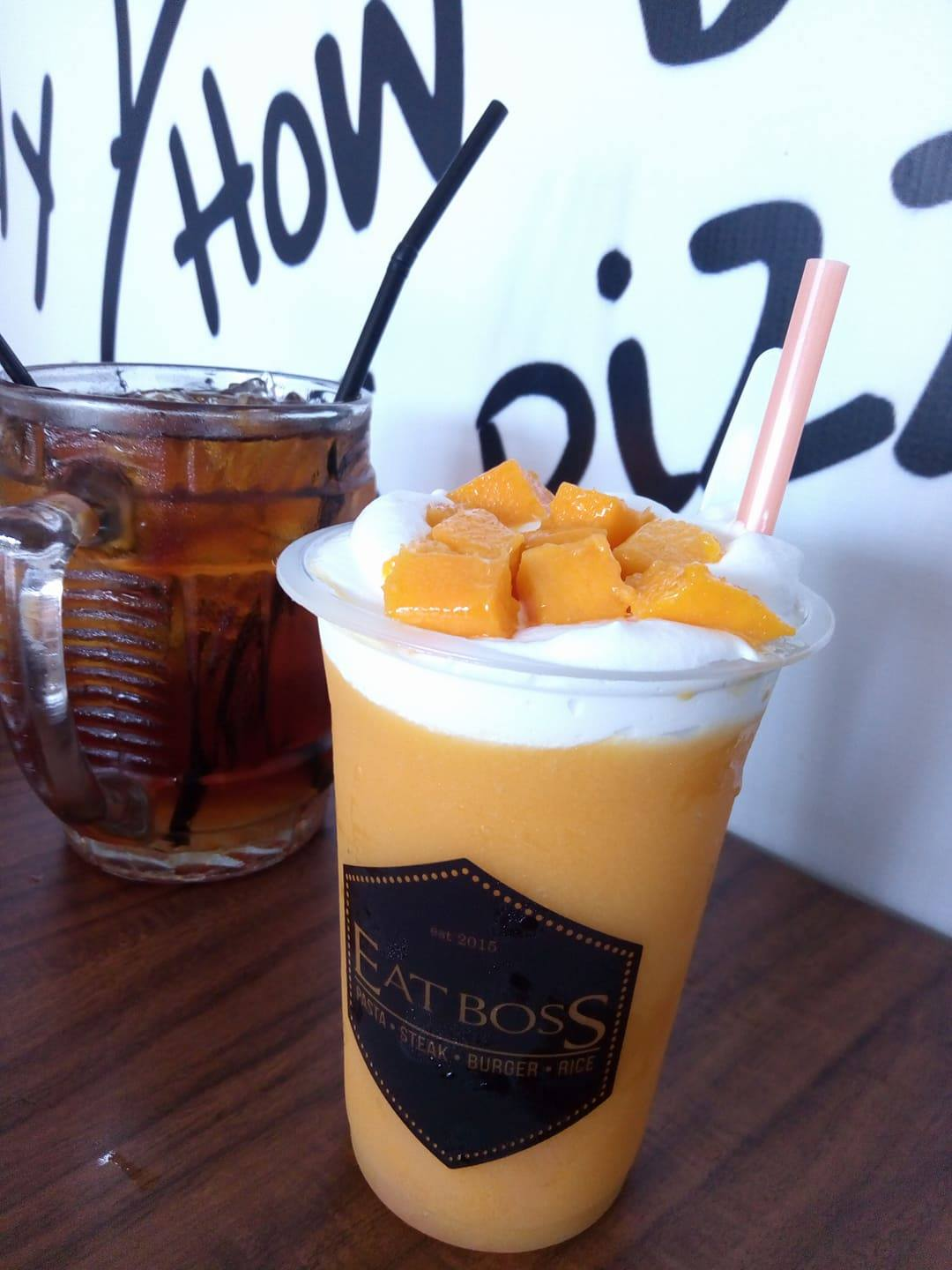 mango boss, mango thai ala eat boss cafe tegal