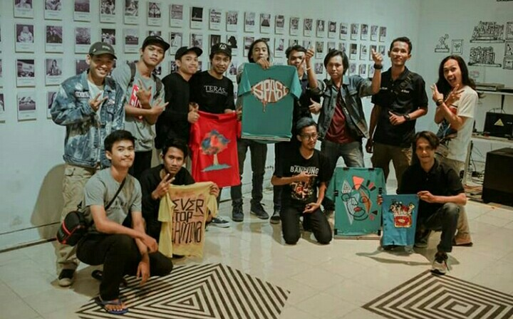 Workshop kaos lukis dan sablon