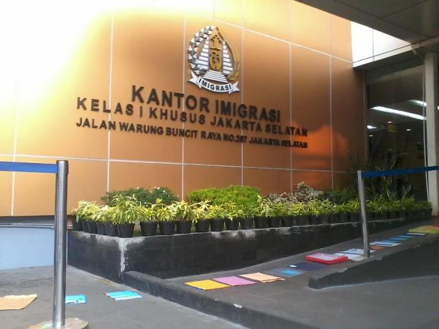 Cara Membuat e-passport di Kanim Jakarta Selatan