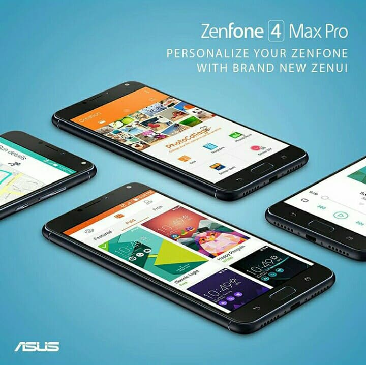 Review Smartphone Terbaru Asus Zenfone 4 Max Pro