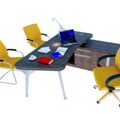 Contoh Desain Office Desk Modern