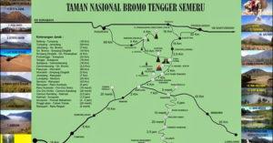 peta taman nasional bromo tengger semeru