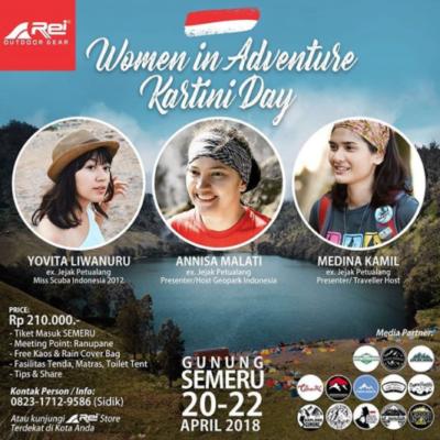 Persiapan Pendakian Gunung Semeru: Woman in Adventure Kartini Day 2018