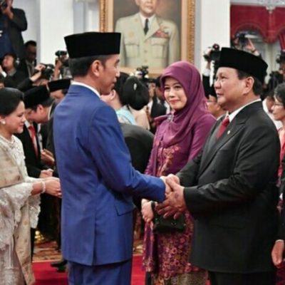Pertemuan Presiden Jokowi dengan Prabowo Subianto